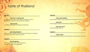mango tree menu